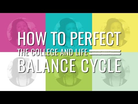 """balancing college life College is a balancing act sometimes you find yourself majoring in juggling as you coordinate schoolwork, social life and jobs throw in finding the love of your life and making a long-lasting connection and you may scream, """"impossible"""" but believe it or not, between the sleazy dance-floor."""