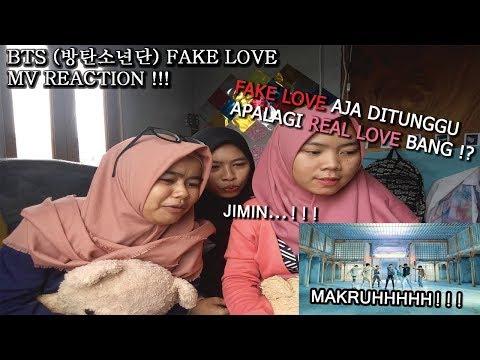MV REACTION EP.2 : BTS `FAKE LOVE` MV REACTION \\PUASA MAKRUH//