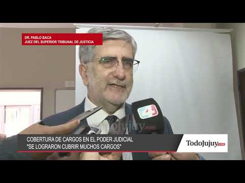 Habló Pablo Baca, juez del STJ de Jujuy