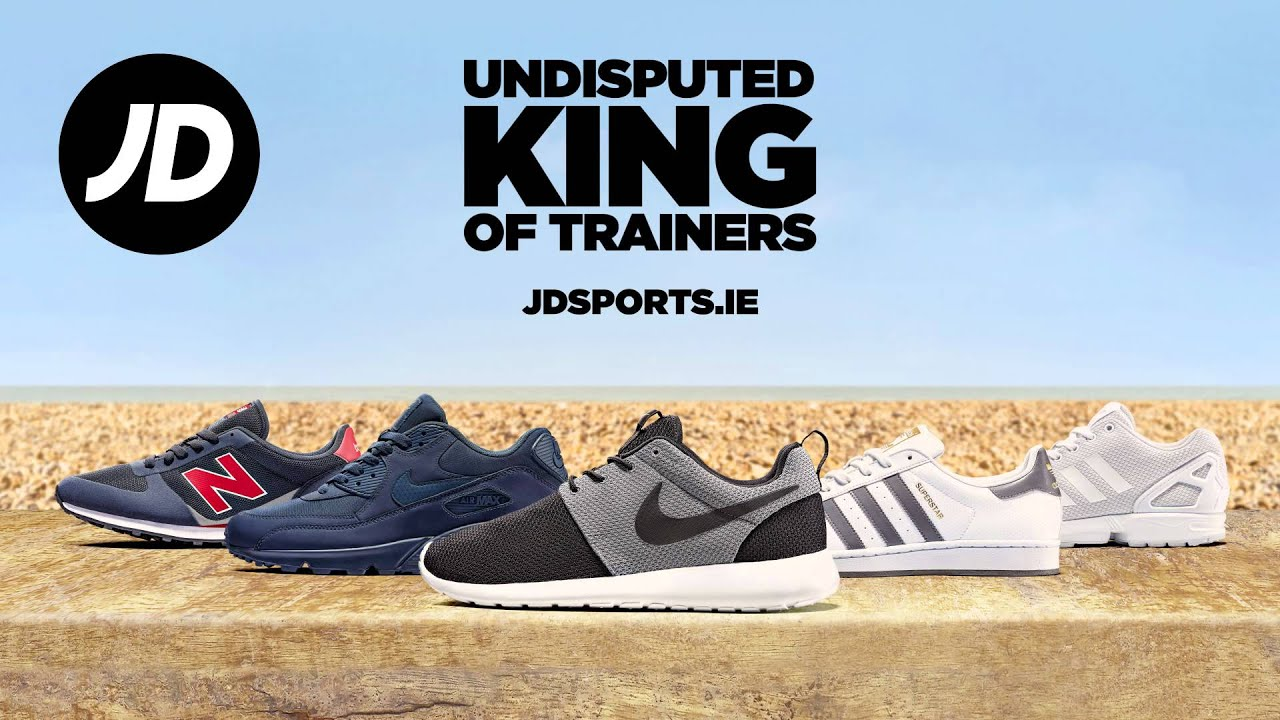 JD Sports Ireland - Undisputed King of Trainers