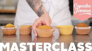 WHAT'S WRONG WITH MY CUPCAKES? How to Get Perfect Cupcakes Every Time | Cupcake Jemma