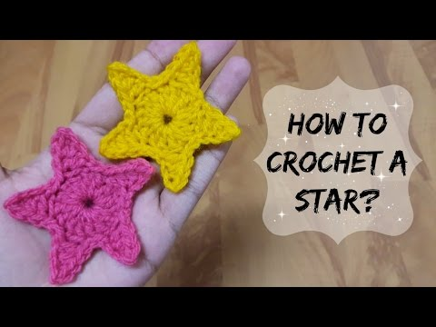 How to crochet a small star? | !Crochet! - YouTube