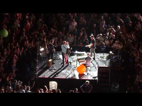 COLDPLAY - Ride On (Christy Moore cover) Live on C-Stage Gillette Stadium Boston - 7/30/2016