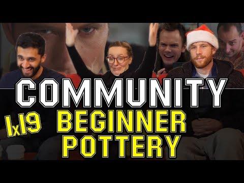 Community - 1x19 Beginner Potter - Reaction