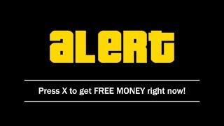 How To Get FREE MONEY In GTA 5 Online IN SECONDS!!!