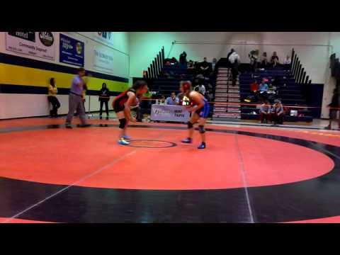 2014 Ontario Juvenile Championships: 49 kg Jessica Waltner vs. Kaitlyne Pretii