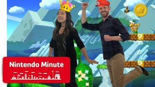 New Super Mario Bros. U Deluxe Co-op Gameplay - Nintendo Minute