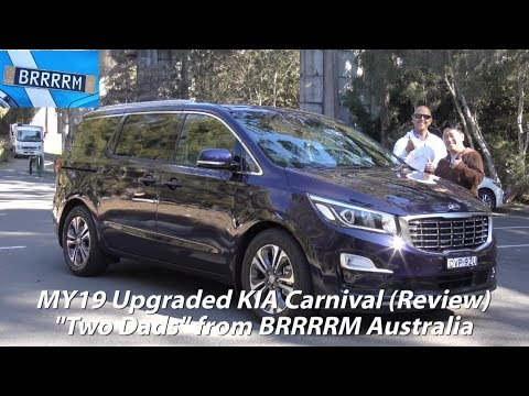 """MY19 Upgraded KIA Carnival """"8-seater"""" (""""Two Dads"""" Review) 