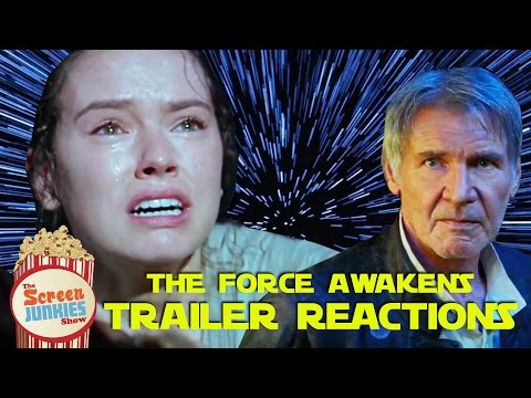 Star Wars The Force Awakens   Final Trailer Reactions Poster