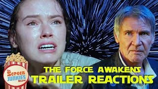 Star Wars: The Force Awakens - Final Trailer Reactions!