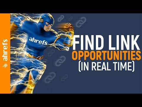 How to Find High Quality Backlink Opportunities (in Real Time)