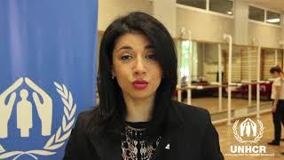 Посол доброй воли УВКБ ООН Искуи Абалян поддерживает кампанию #СБеженцами