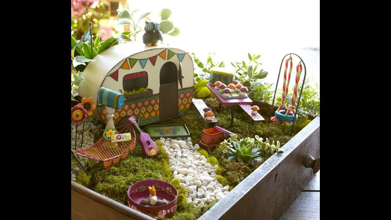 30 diy fairy garden ideas