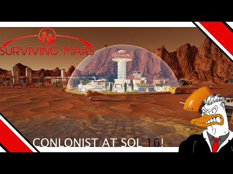 Surviving Mars - Play through - Getting colonist at sol 16
