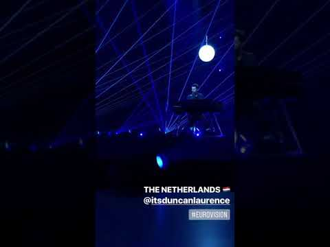 Duncan Laurence - Arcade - THE NETHERLANDS EUROVISION 2019 - 1st rehearsal