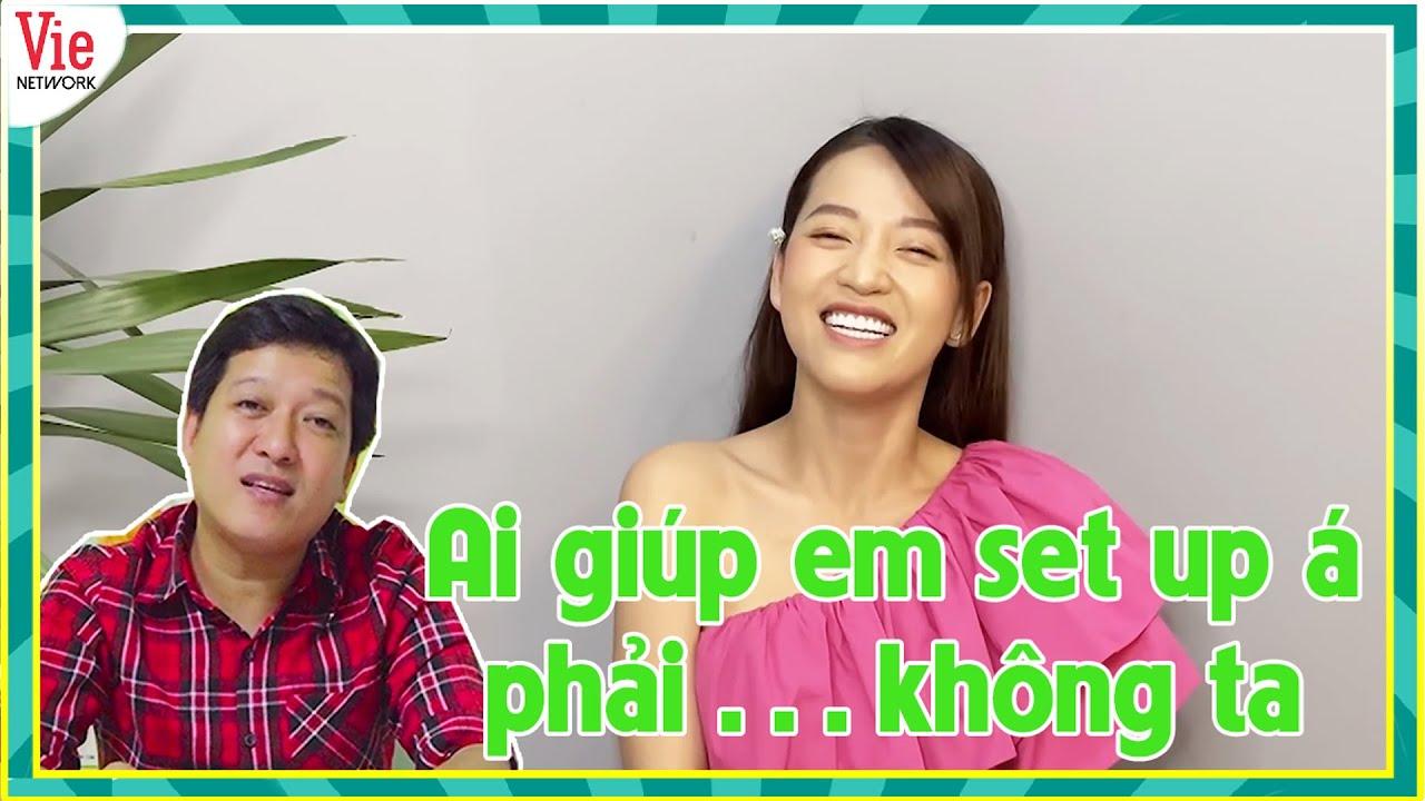 Puka ở nhà cũng bị Trường Giang hỏi có Gin Tuấn Kiệt ở đó không, hào hứng chơi Nhanh Như Chớp Online