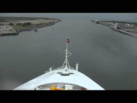 Disney Magic - Leaving Port Canaveral FL - May 2, 2014