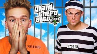 GTA V Więzienie #18 ARESZTOWANI!