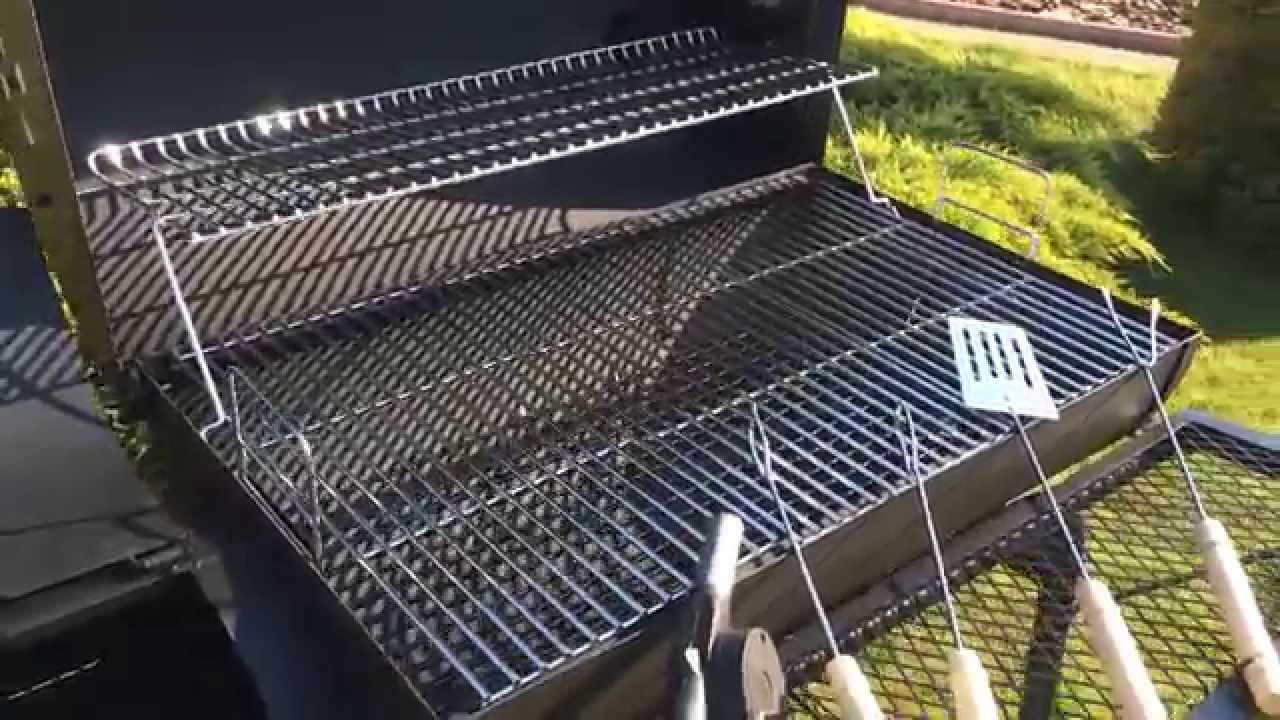 grill orion z wĘdzarniĄ + gratis dmuchawa i sztućce - youtube