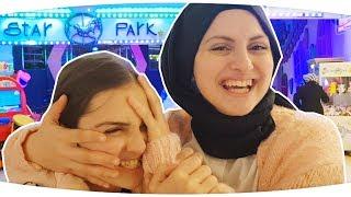 LUNAPARKTA KARDEŞİMLE BİR GÜN GEÇİRMEK - Star Park Eğlence Merkezi | VLOG | Fenomen Tv
