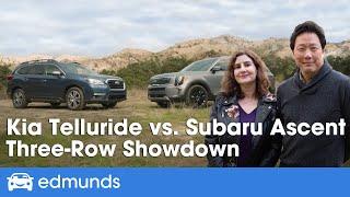 Kia Telluride vs. Subaru Ascent   2020 SUV Comparison Test