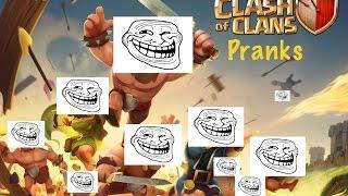 Clash Of Clans Pranks: Global Prank 1