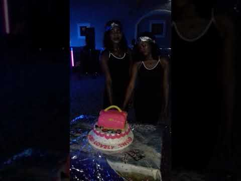 Tessy and Tracy ( twins birthday )