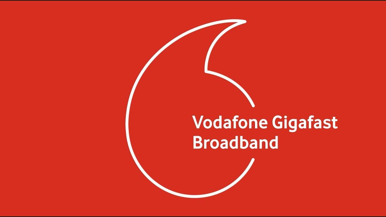 Gigafast Fibre Home Broadband from Vodafone