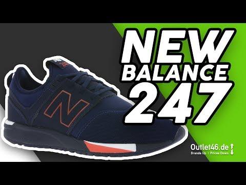 New Balance 247 Sneaker Blau - Der 24/7 Sneaker? DEUTSCH l ...