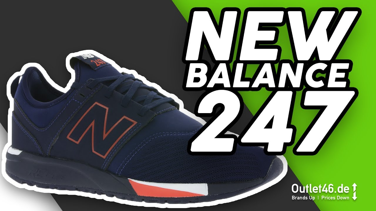 New Balance 247 Sneaker Blau - Der 24/7 Sneaker? DEUTSCH l Review l On Feet  l Overview l Outlet46.de