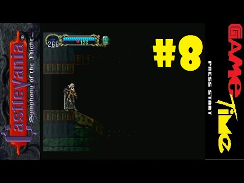 Castlevania Symphony of the Night PS1 | Part 8: Echo of Bat and Spike Breaker Armor w/GameTime
