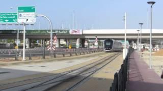 Dubai Tram Arriving