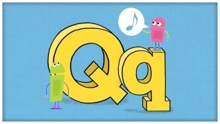 "ABC Song: The Letter Q, ""Question For Q"" by StoryBots"