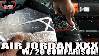 Sneaker Review: Air Jordan 30 vs Air Jordan 29 (XXIX vs XXX) + On Feet
