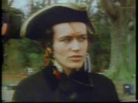Adam Ant - Making of 'Stand and Deliver' vid