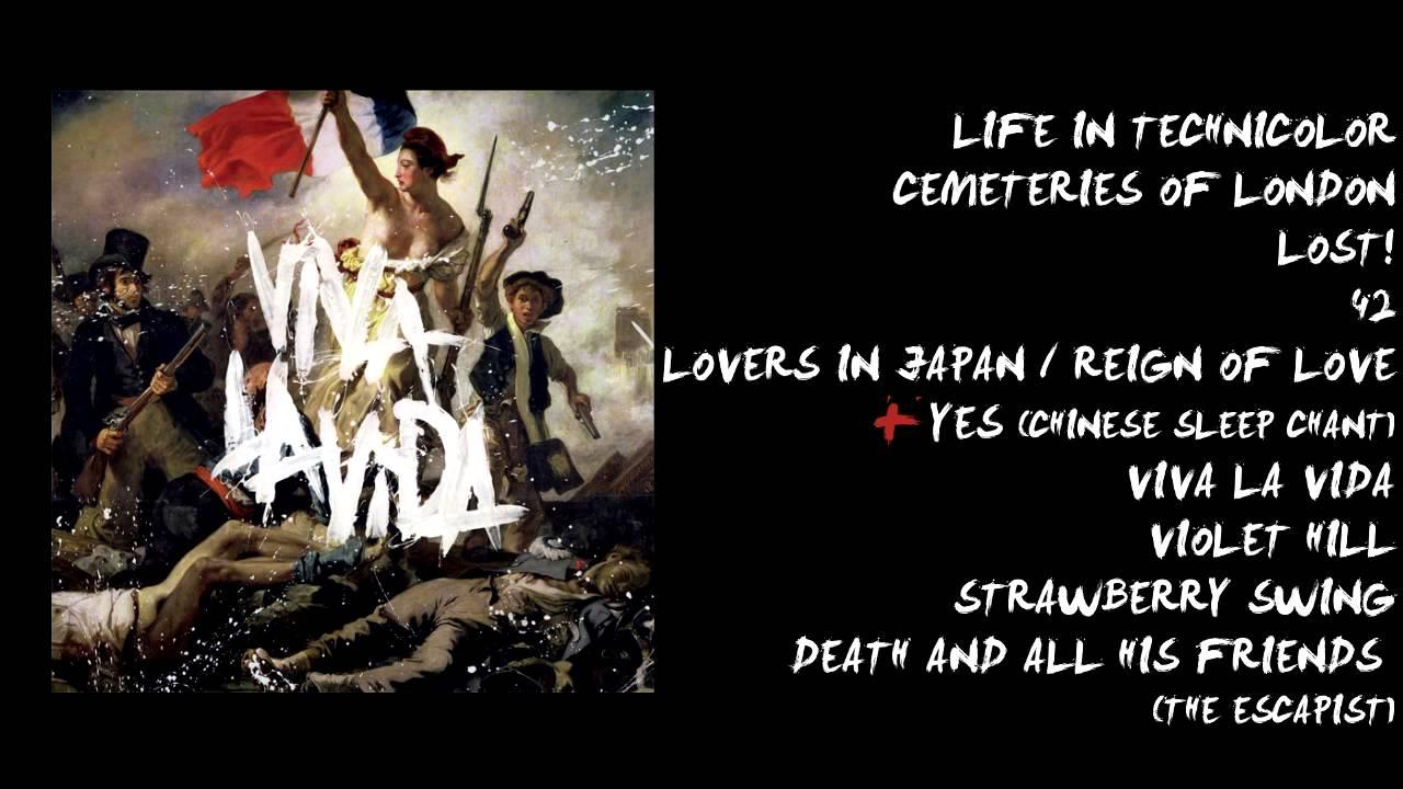 Download Coldplay - Viva La Vida or Death and All His Friends Album Sampler