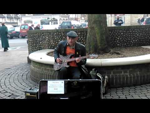 Awesome Blues Guitar in Bury St Edmunds ¦¦ Tony Jeevar