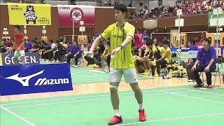 第65回全日本実業団バドミントン選手権京都大会 男子 準々決勝 NTT...