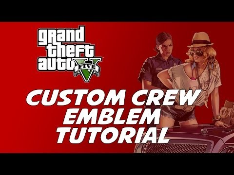 How to create Custom Rockstar Social Club Emblem (NEW AND EASY METHOD) PATCHED