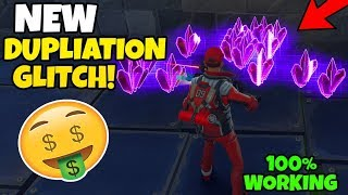 Fortnite *NEW* WORKING SOLO Duplication Glitch 2019 🤑 Save The World