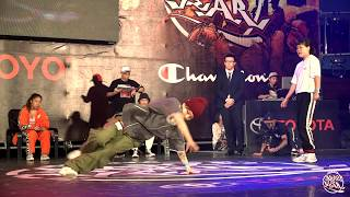 Bgirl 2on2 Final Battle:Bgirl Jayon (KR) vs Remember Her (TW)|TOYOTA BOTY Taiwan 2018