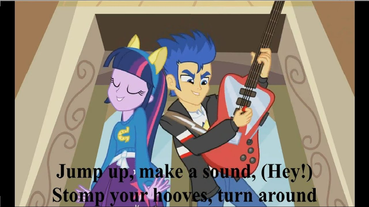 Equestria Girls Cafeteria Song Lyrics Video Hd Hq Helping Twilight Win The Crown Youtube