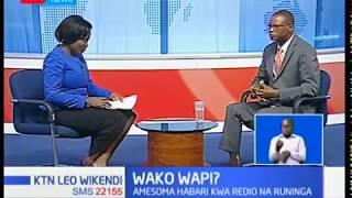 Wako Wapi: Edward Kadilo, amekuwa mtangazaji kwa siku nyingi