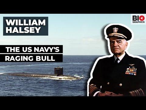 Admiral William Halsey: The US Navy's Raging Bull