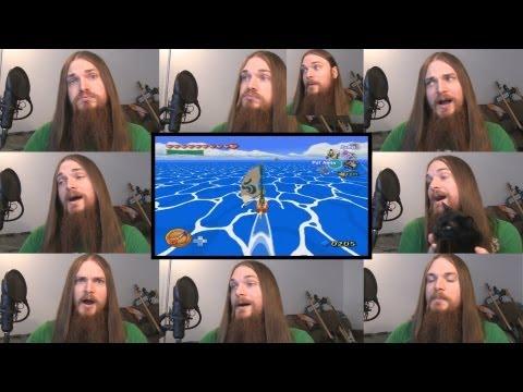 Wind Waker - Ocean Overworld Acapella; Legend of Zelda