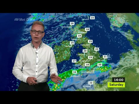 Saturday afternoon forecast 29/07/17