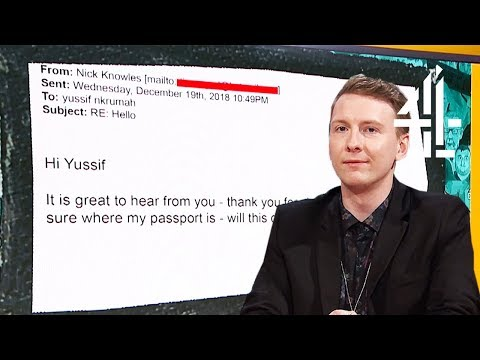 Joe Lycett SHUTS DOWN Scammer With Fake Affair Story   Joe Lycett's Got Your Back   Tonight 8.30pm