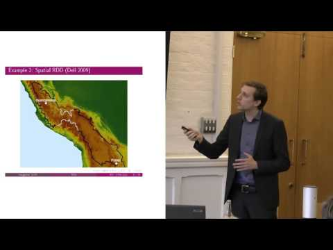 The regression discontinuity design in social science