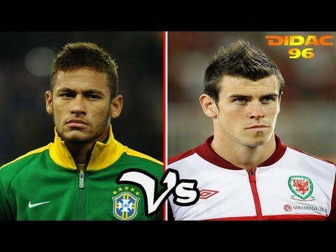 Gareth Bale Vs Neymar Junior Goles & Regates 2013 HD Travel Video