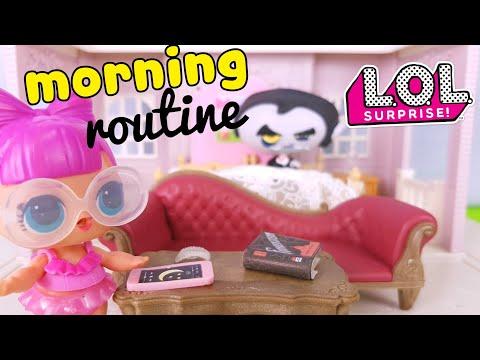 Le Storie delle Lol Surprise 🚿🧖♀️🚽 La MORNING ROUTINE in Casa di Vlad e Franchina 🚿🧖♂️🚽